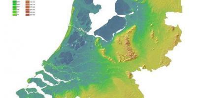 Netherlands Topographic Map.Netherlands Topographic Map Physical Map Of The Netherlands