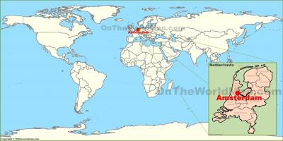 Holland world map holland in world map western europe europe gumiabroncs Images